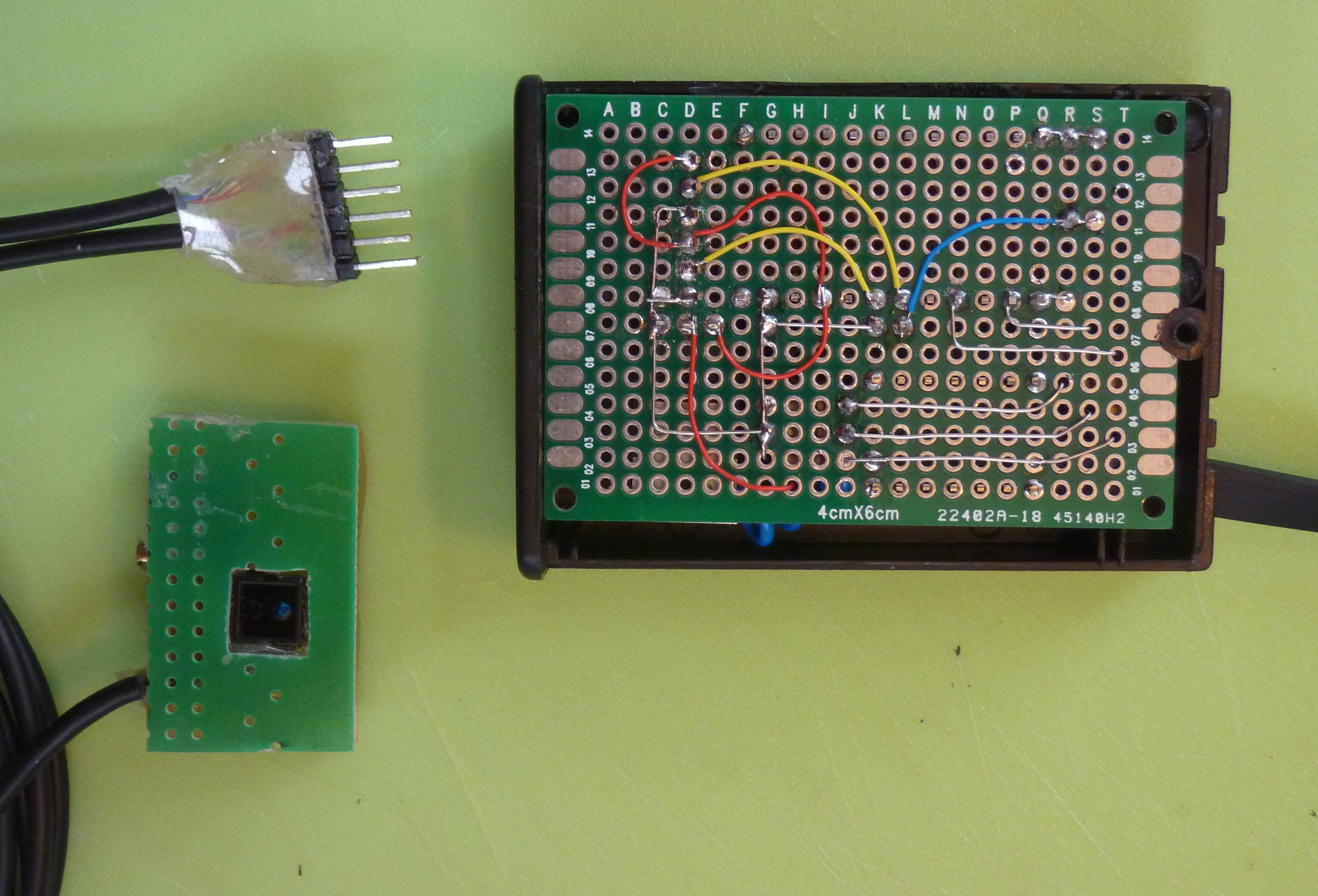 Arduino with cny reflective sensor as kwh meter robert