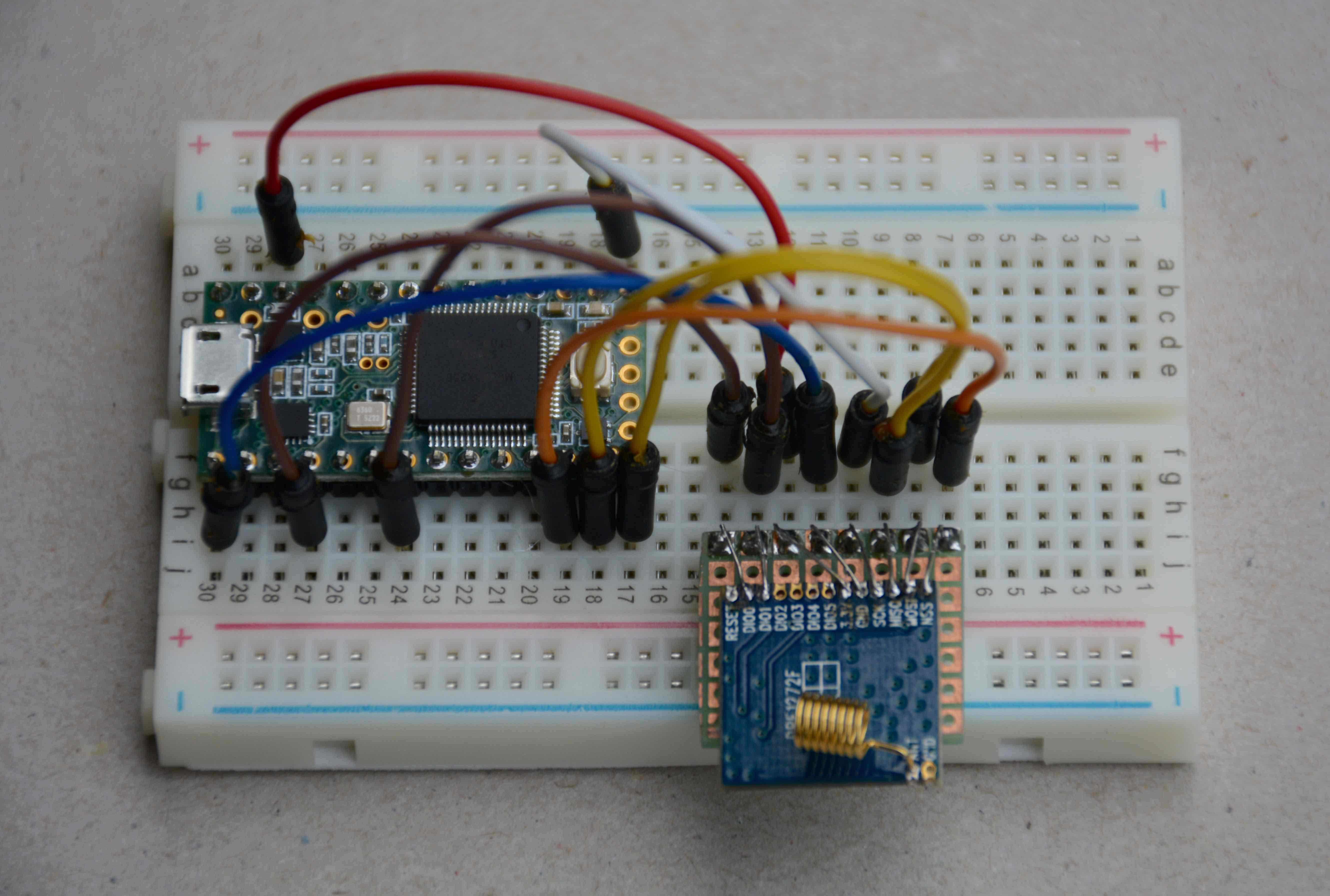 Electronics Robert Oostenvelds Blog Led Breadboard Circuit Series Moreover Tri Color Wiring On Ide To Teensy Connected Drf1272f