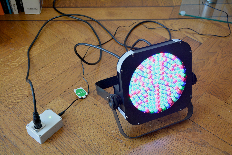 Art-Net to DMX512 with ESP8266 | Robert Oostenveld's blog