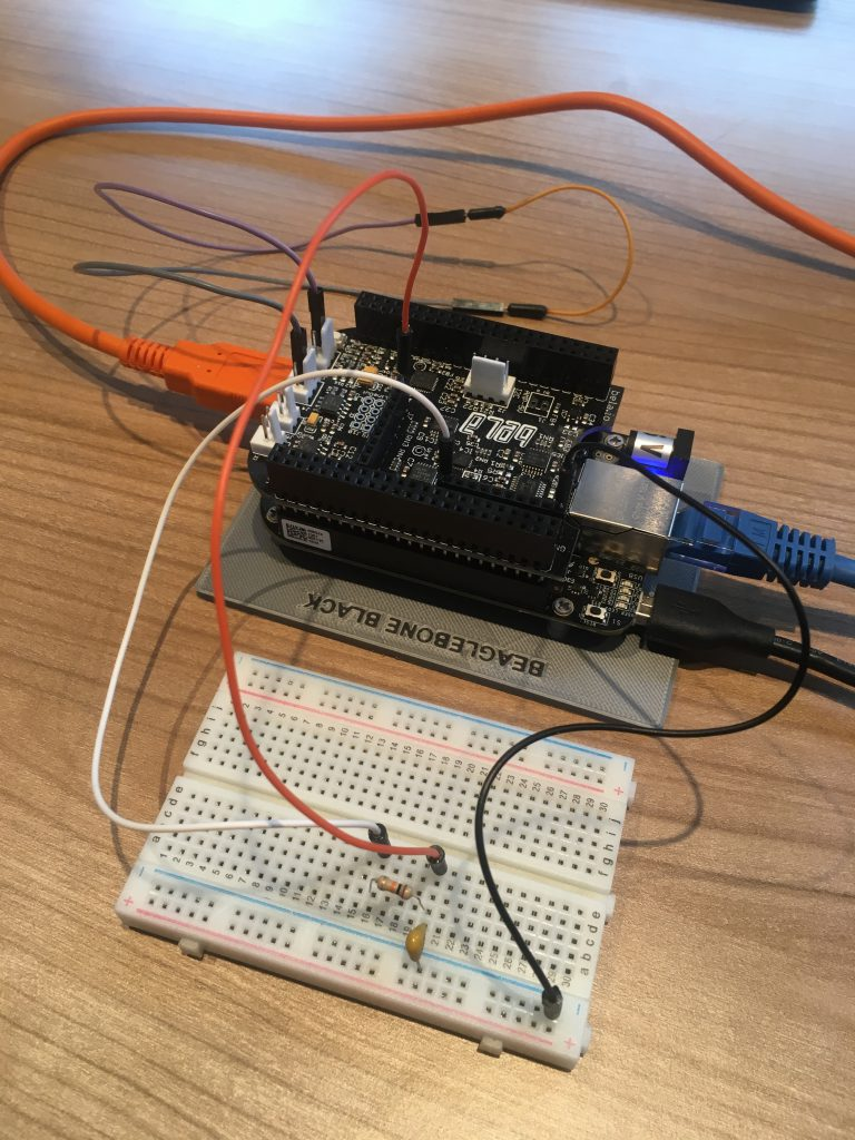 Bela and breadboard with fiter