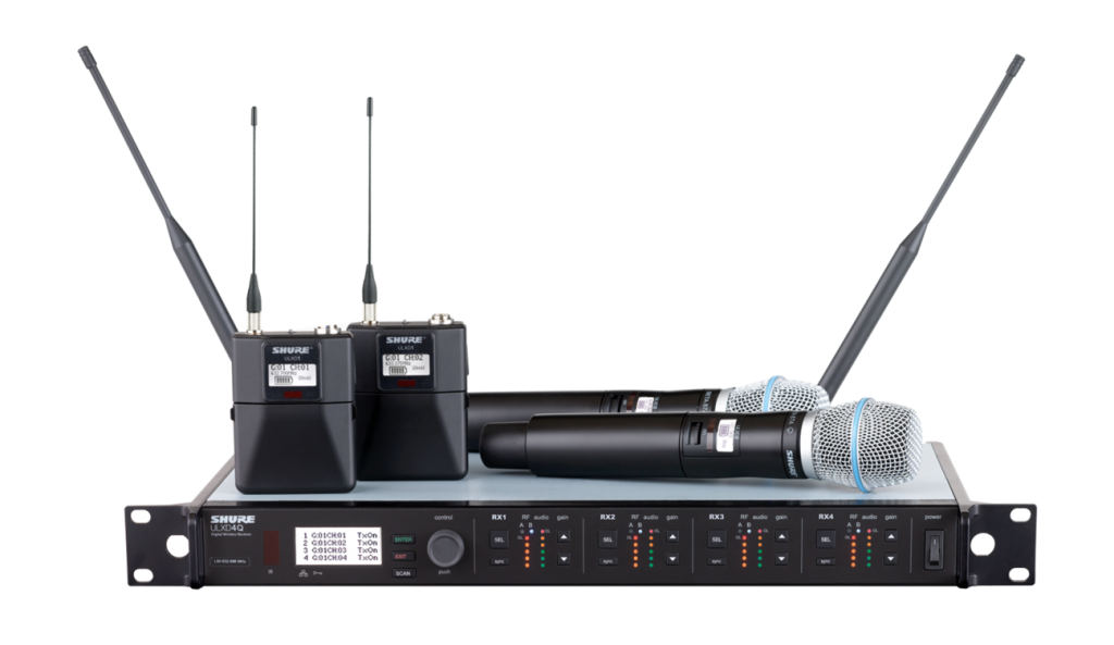Shure ULX-D digital wireless system