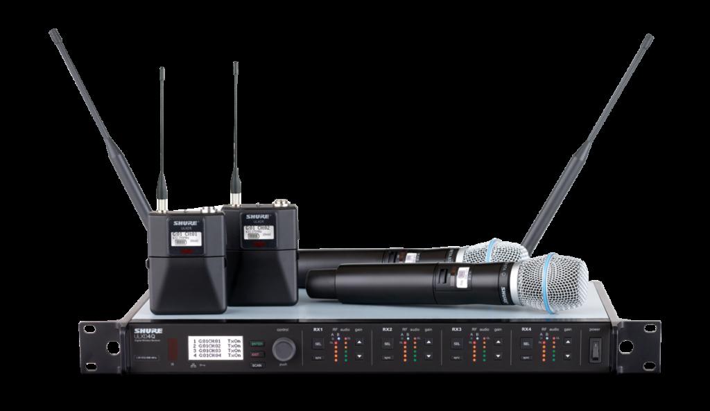Shure ULX-D digital wireless system